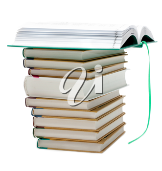 Royalty Free Photo of a Pile of Books