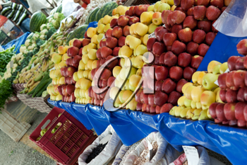 Royalty Free Photo of Fruit at a Market
