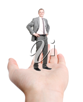 Royalty Free Photo of a Helping Hand Concept