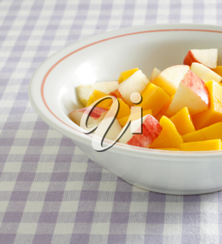 Royalty Free Photo of a Bowl of Fruit