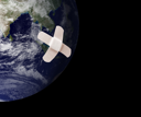 Royalty Free Photo of a Wounded Earth