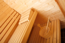 Royalty Free Photo of a Sauna