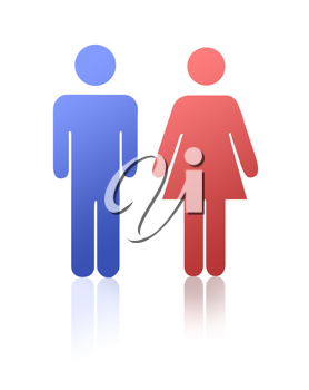 Man and woman