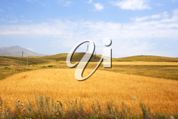 Royalty Free Photo of a Mountain Landscape in Armenia