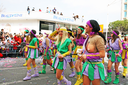 Royalty Free Photo of People in a Carnival Parade