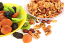 Royalty Free Photo of Dried Fruits and Nuts
