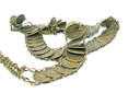 Royalty Free Photo of a Belt Made of Coins