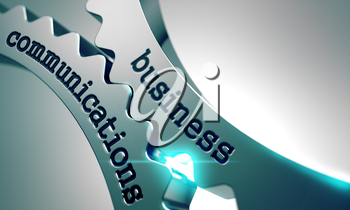 Business Communications on the Mechanism of Metal Gears.
