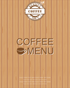 Royalty Free Clipart Image of a Restaurant Menu