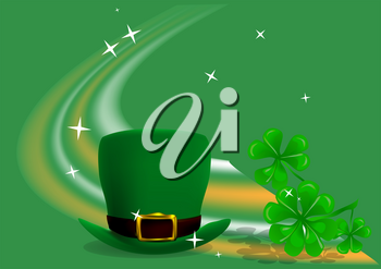 festive background to St. Patrick's Day