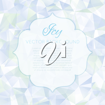 Vector illustration, template for your decoration and design