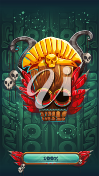 Jungle shamans mobile GUI gamerune background loading screen