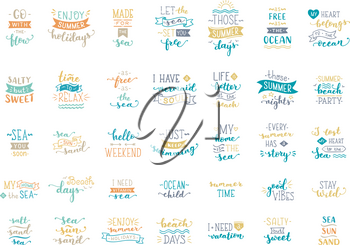 Colored lettering design. Great typography for poster, mug, bag, card or t-shirt.