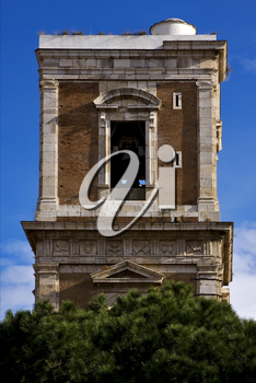 tower in santa chiara naples and the bell