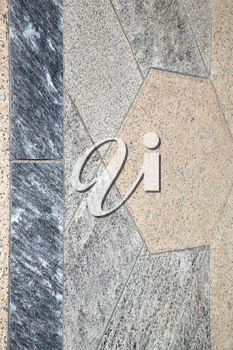 villadosia street lombardy italy  varese abstract   pavement of a curch and marble