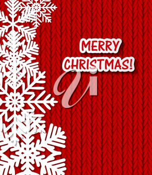 Abstract Christmas and New Year Background. Vector Illustration EPS10