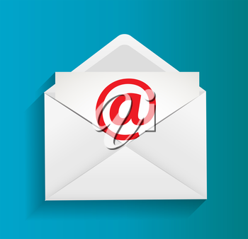 E-mail Protection Concept Illustration