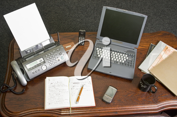 Business workspace