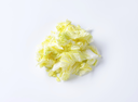 Chopped leaves of fresh Chinese cabbage