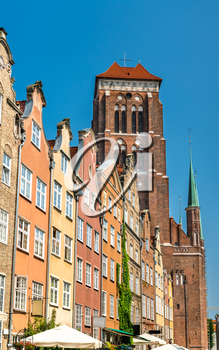 The Basilica of the Assumption of the Blessed Virgin Mary in Gdansk, Poland
