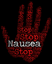 Stop Nausea Showing Car Sick And Restriction