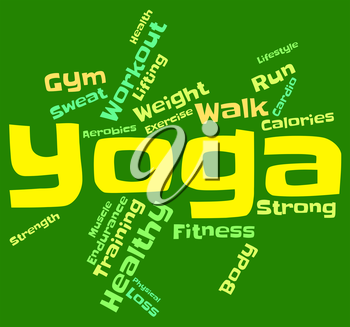 Yoga Word Meaning Meditation Healthy And Harmony
