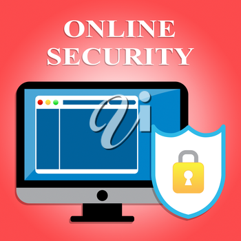 Online Security Representing Web Site And Computer