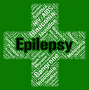 Epilepsy Word Representing Ill Health And Indisposition