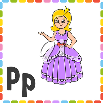 Colorful vector illustration. Cartoon character. Isolated on color background. Design element. Template for your design.